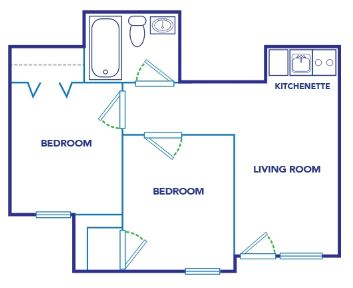 Classic Two Bedroom
